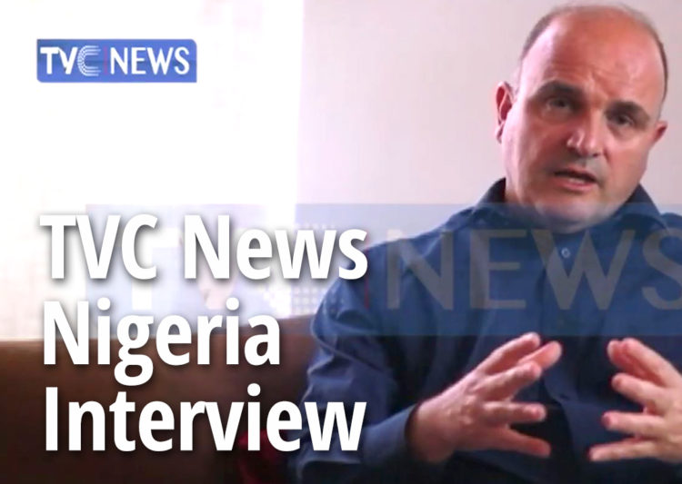 TVC News Nigeria Interview: Paolo Bray – Nigeria is highest exporter of Pangolin scales post image