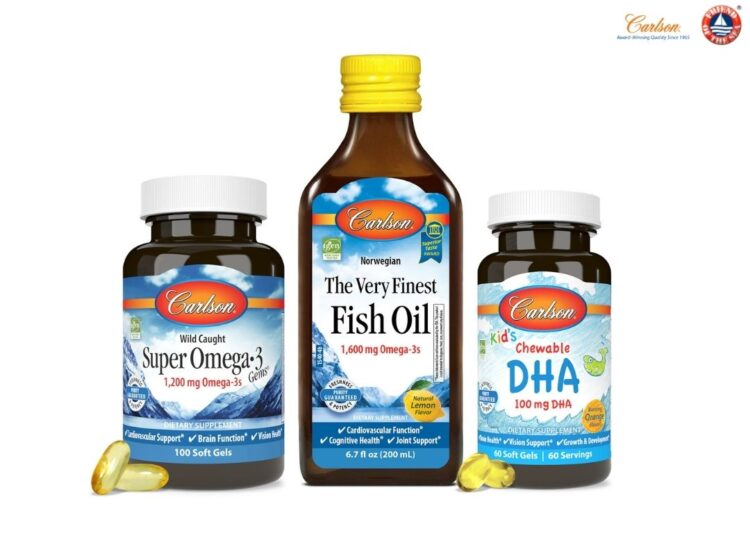 Carlson Achieves Sustainability Certification for Omega-3 Products.