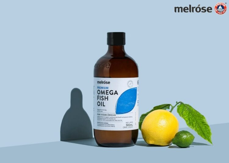 Melrose Health Certified by Friend of the Sea for Sustainable Omega Fish Oil Products.