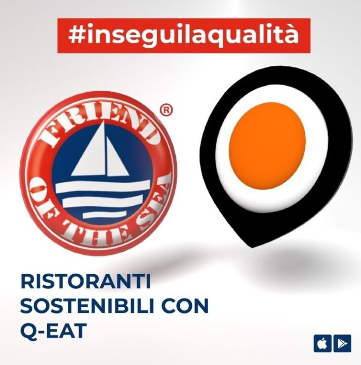 Friend of the Sea® approva l'app della tracciabilità di Q-Eat. post image