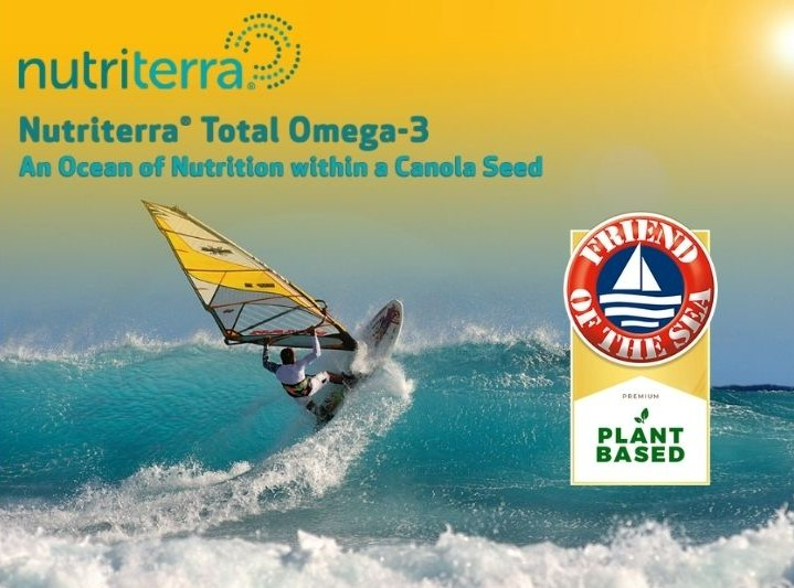 Friend of the Sea Certifies Nutriterra® for Sustainable Plant-Based Omega-3. post image